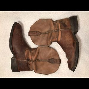 🔴ARIAT BOOTS 🥾 10002317 35829 SZ 7.5D BROWN USED
